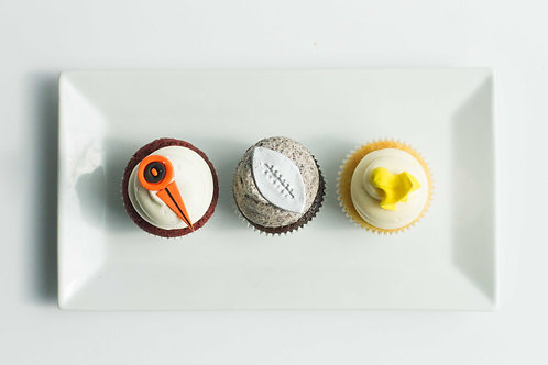 Super Bowl Cupcakes (Set of 4)