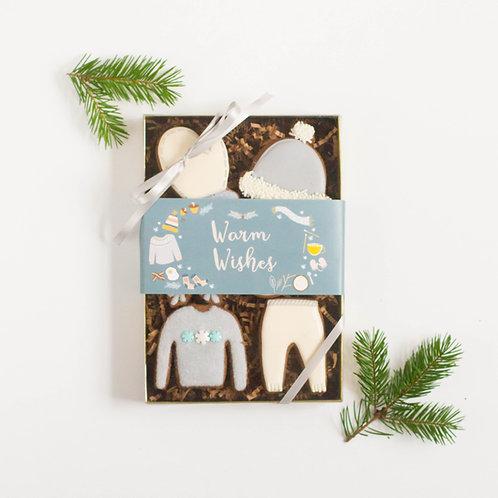 Warm Wishes Gift Box, Sugar Cookies (Set of 6)