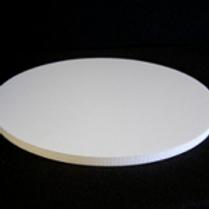 """11"""" White Foam Core Cake Board (5 Count)"""