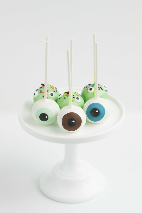 Eyeball Cake Pops - Red Velvet (Set of 6)