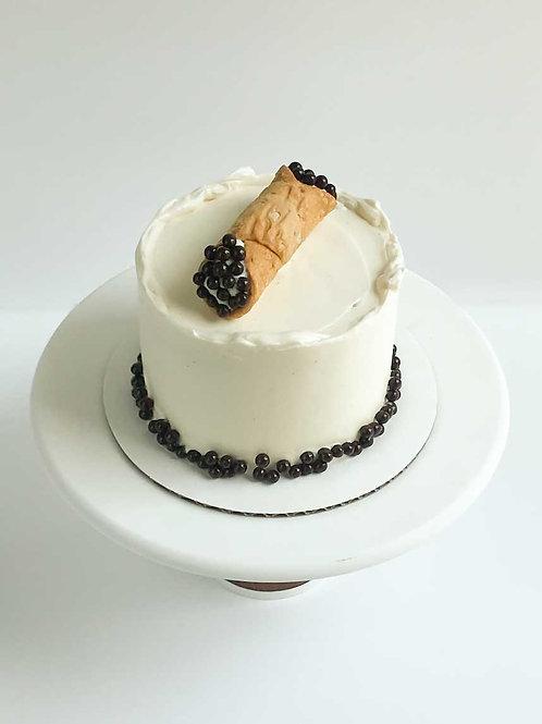 Cannoli Snack Cake (Serves 2-3)
