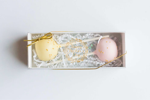 Mother's Day Cake Pop Gift Box