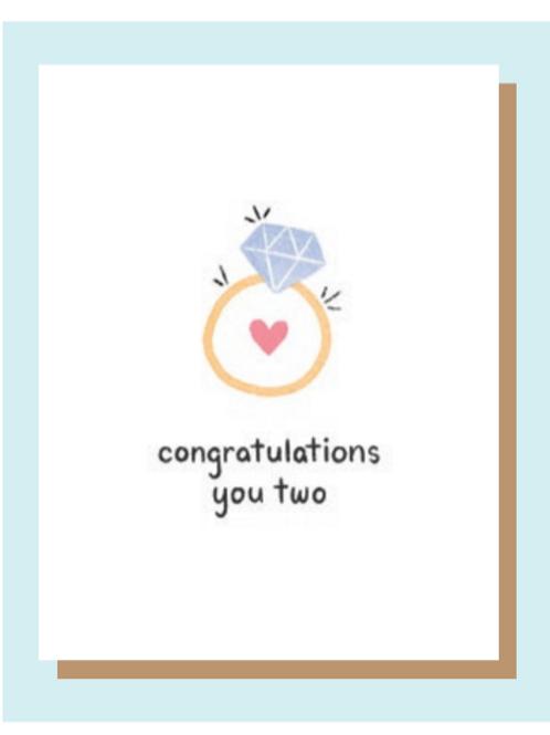 Greeting Card - Engagement