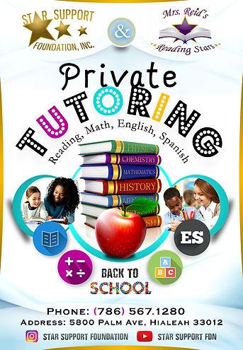 Private Tutoring (8-30-2019 Update) Engl