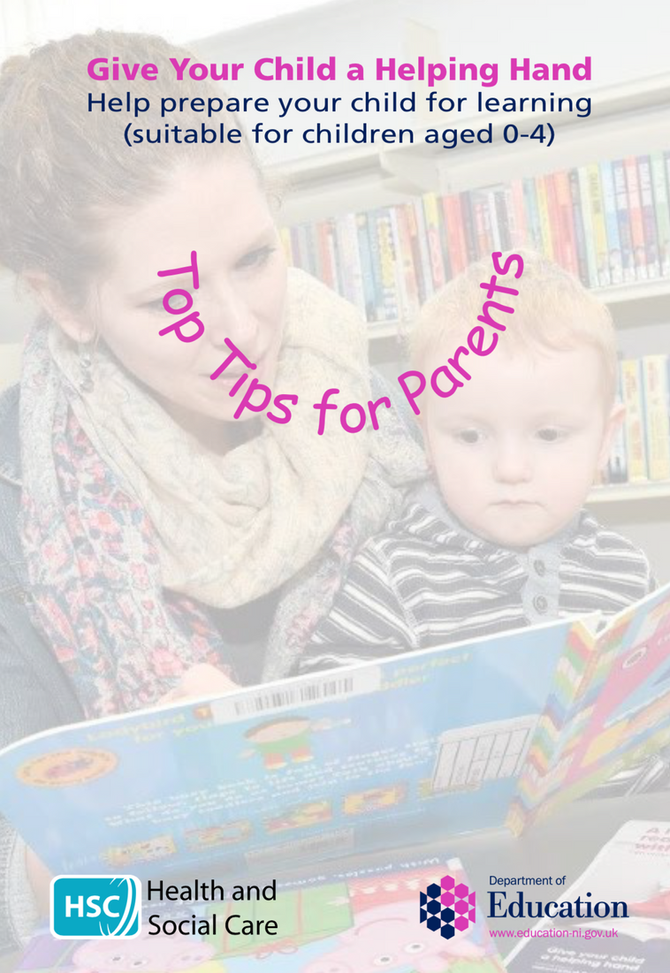 Top Tips for Parents of Children Aged 0-4