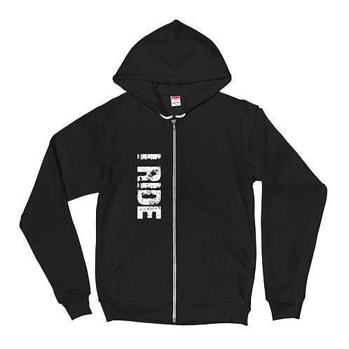 UNISEX OFFICIAL I RIDE ZIP UP HOODIE
