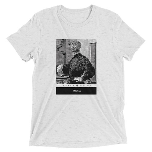 UNISEX THE PRINCE BY ARAGNA KER TRI-BLEND TEE