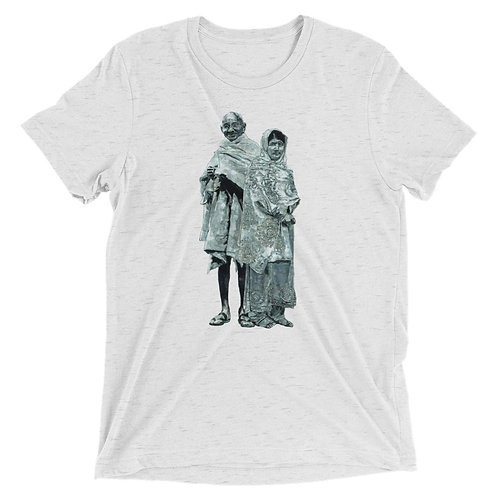 UNISEX PEACEFUL WARRIOR BY ARAGNA KER TRI-BLEND TEE