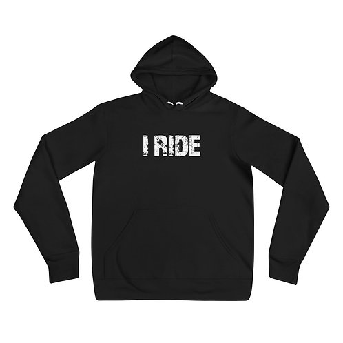 UNISEX OFFICIAL I RIDE PULLOVER HOODIE