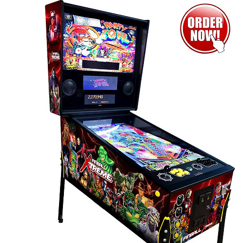 2in1 Virtual Pinball Arcade Machine 4K 43' Playfield