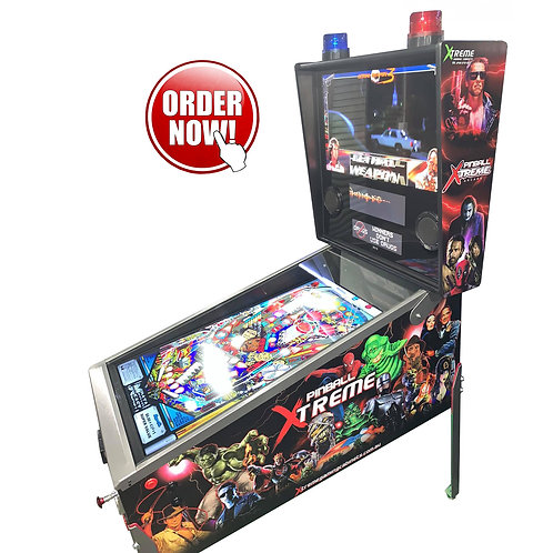 XTREME PREMIUM Virtual Pinball Machine 4K 43' Playfield
