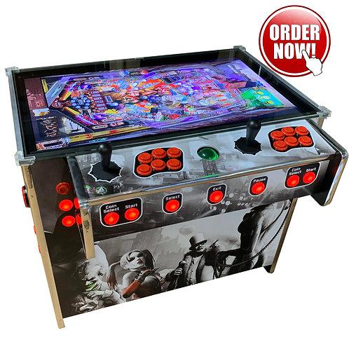 2in1 Sitdown Arcade and Virtual Pinball Machine