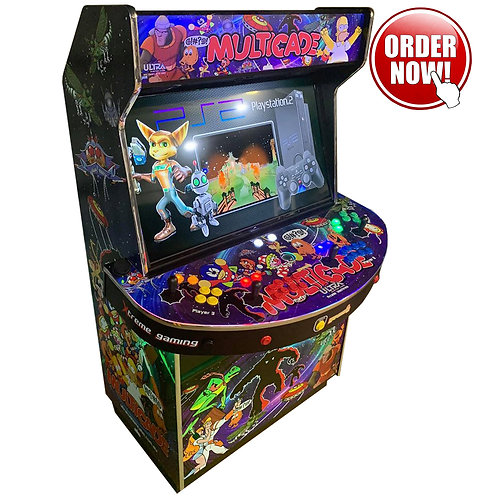 4-Player Arcade Machine 40,000 plus Games Hyperspin System