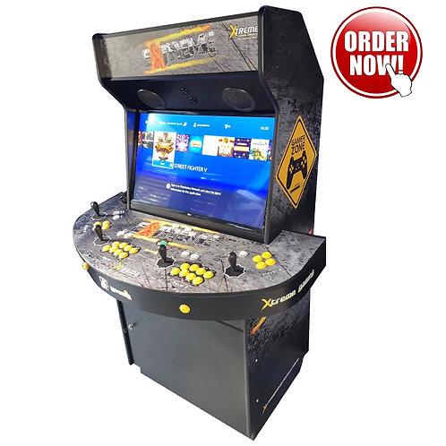 Xtreme Gaming Cabinet Premium 4-Player 70'000 Plus Games Hyperspin