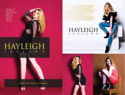 Model Comp Card : Hayleigh