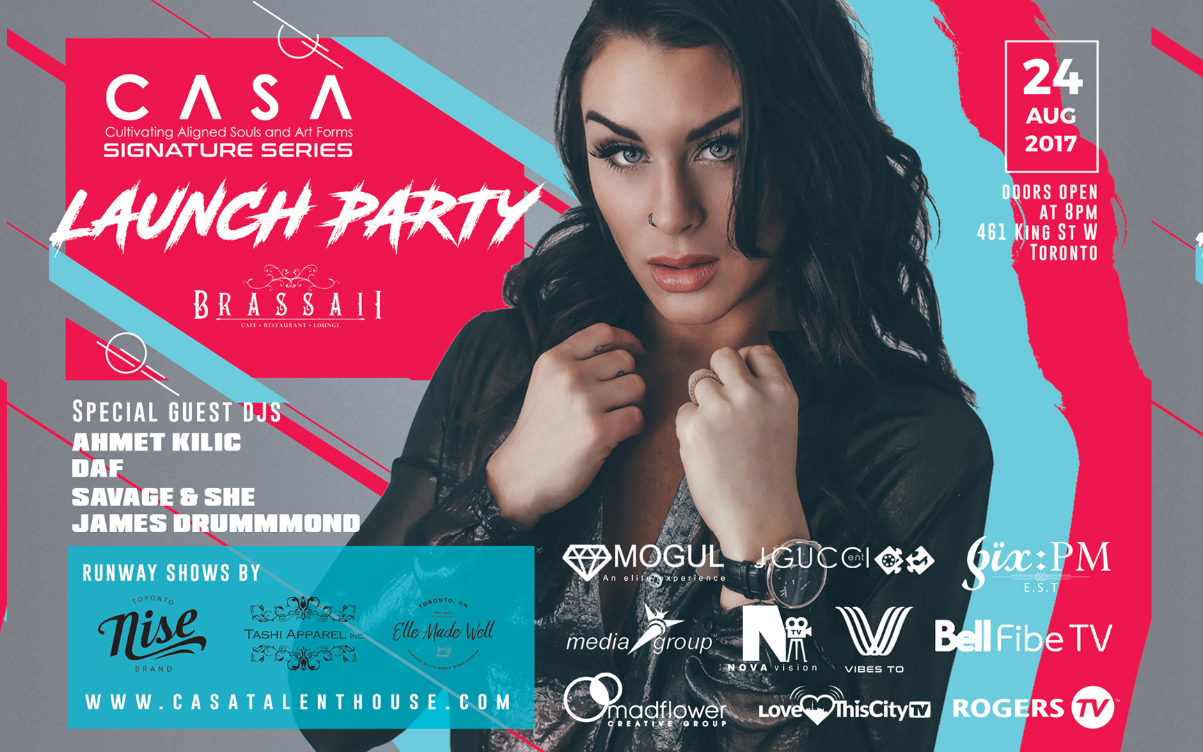 CASA Launch Event Official Poster