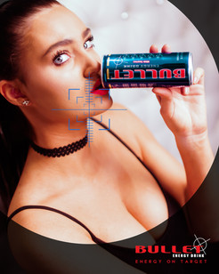 Bullet Evergy Drink Poster