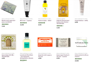 e-shop beauté et cosmétique bio. veganie