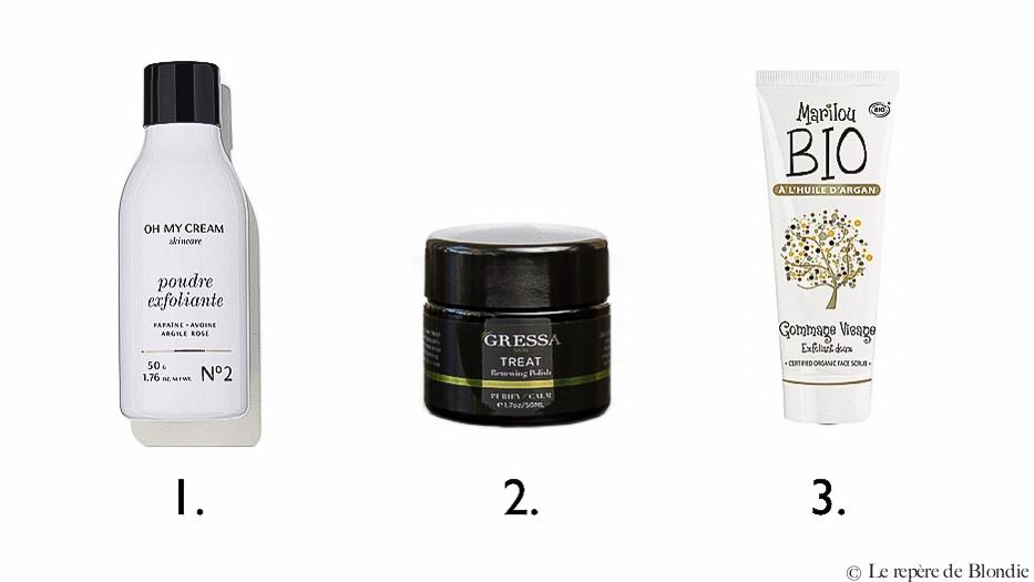 gommage/peeling peau normal à mixte