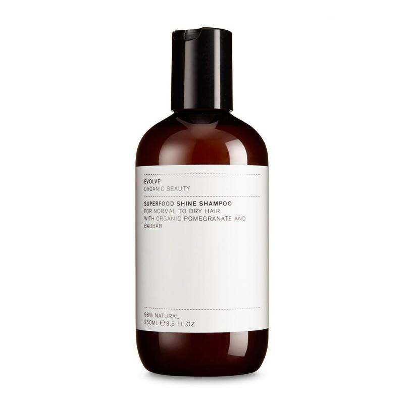 Evolve shampoing vegan et naturel. shampoing cheveux secs et colorés