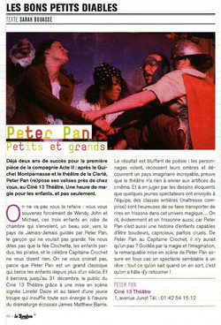 Peter Pan Article le Bonbon