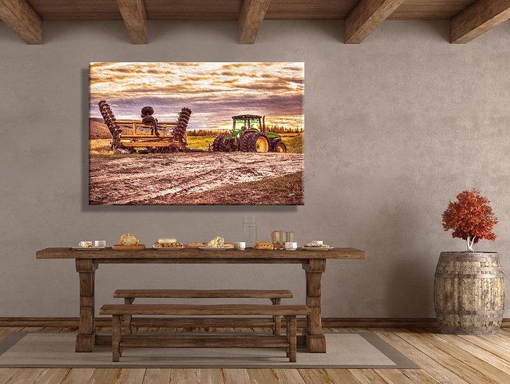 Hidden Valley Farm Canvas Art