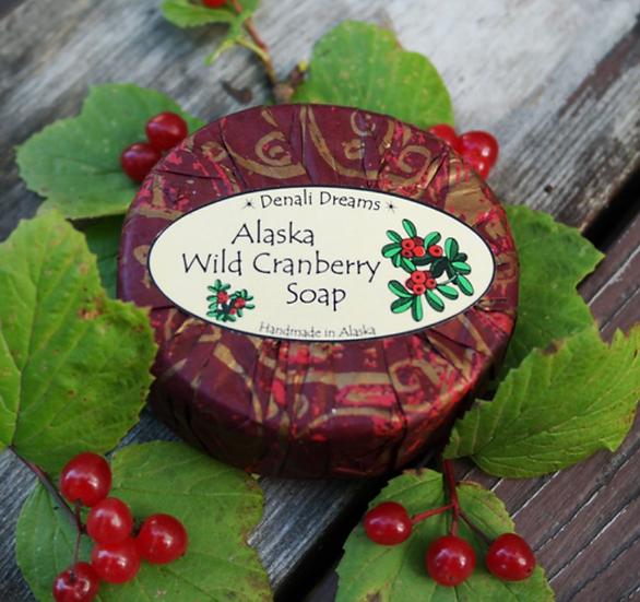 Alaska Wild Cranberry Soap
