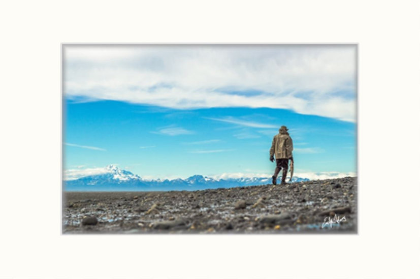 "Alaska Fisher of Men 8""x12"" Matted Print"