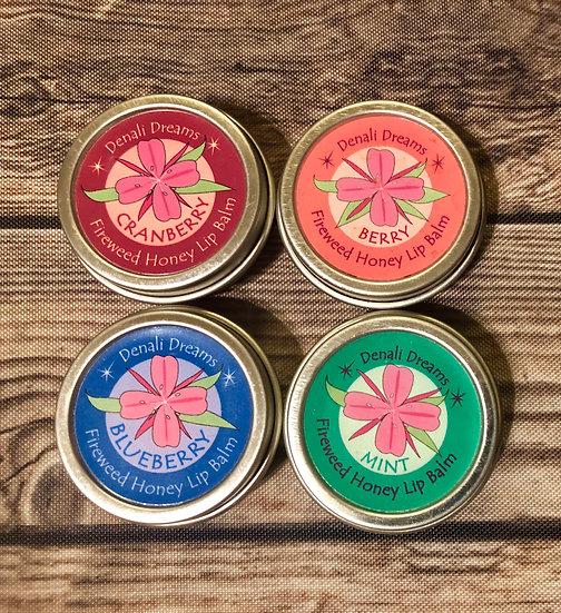 Fireweed Honey Lip Balms 4Pack