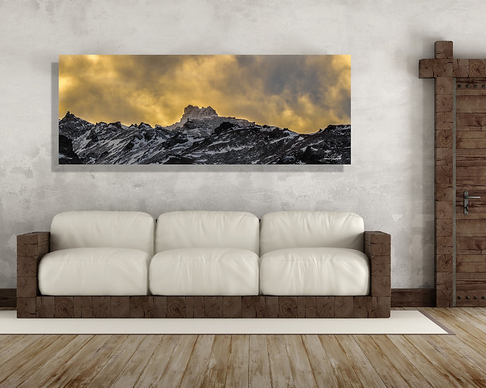 Castle Rock Canvas Art - Denali National Park