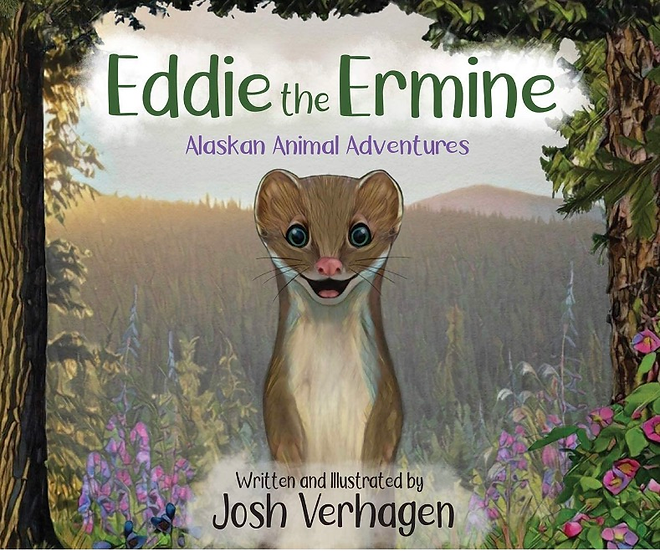 Eddie the Ermine Children's Book