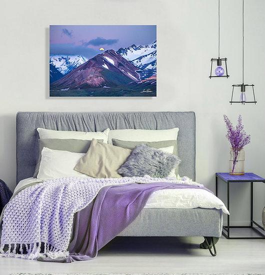 Purple Mountain Majesty Metal Art