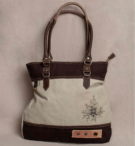 Pasque FlowerCanvas Tote