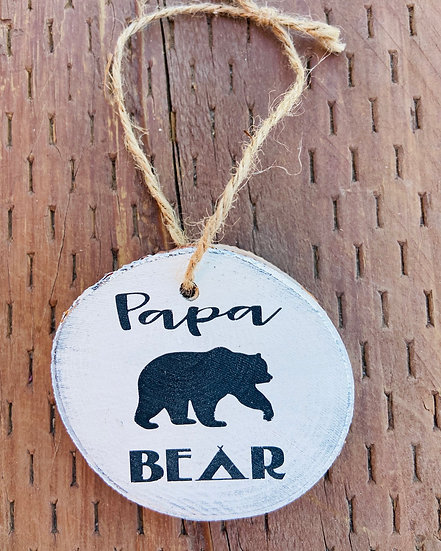 Papa Bear Ornament