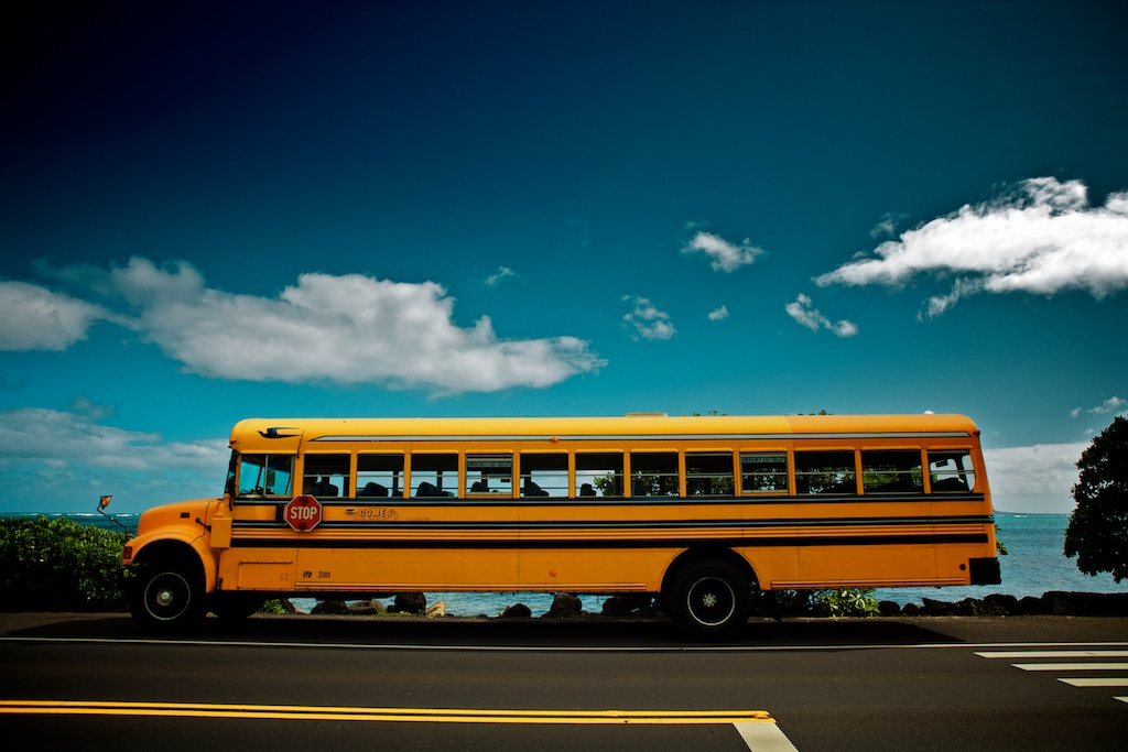 School Bus, Hawaii