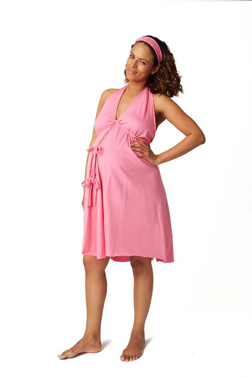 24a9c080c6343 This simple and comfy labor and delivery gown is your smart alternative to  the unisex hospital gowns that scratch and show your backside to the world.