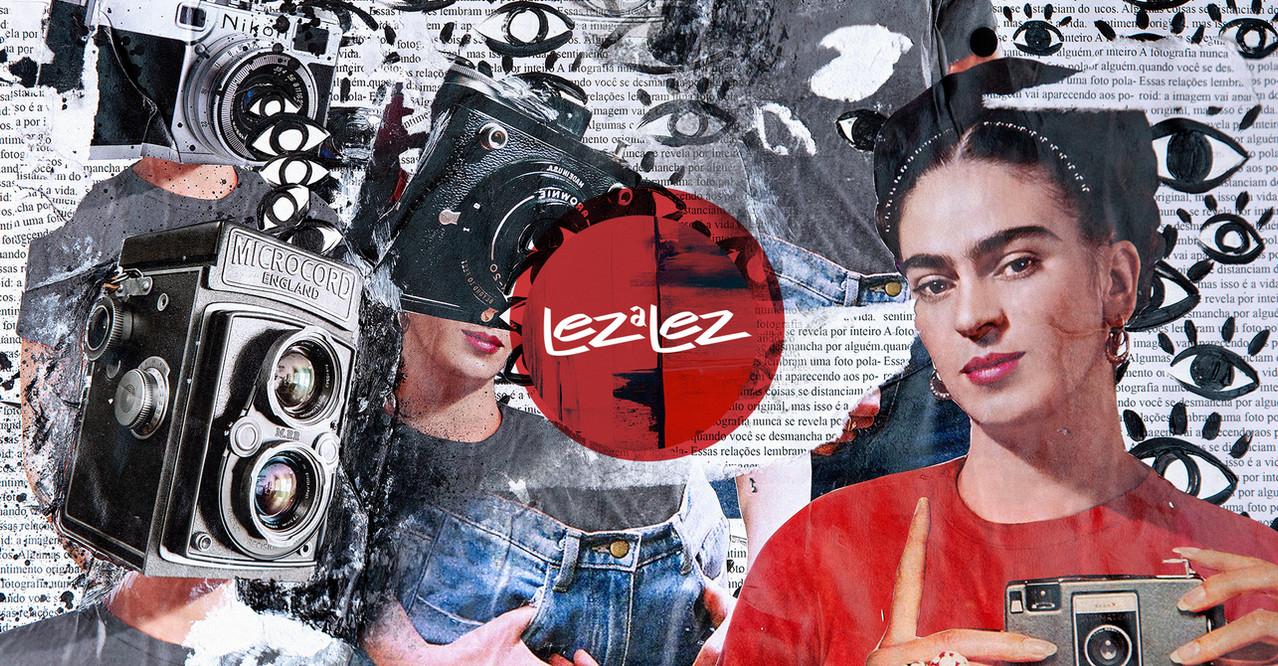 Lez a Lez / Cartel 11 - Frida Kahlo - Força Latina Feminina
