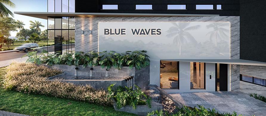 Identidade Visual - Blue Waves