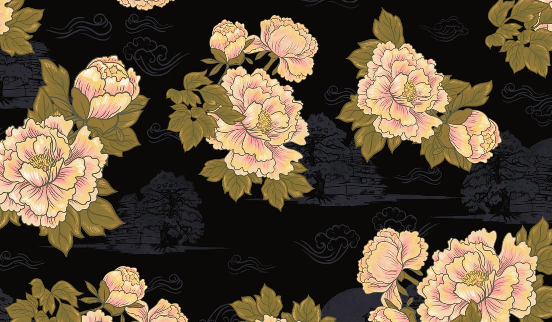 Rapport Floral Japones Dion Ochner