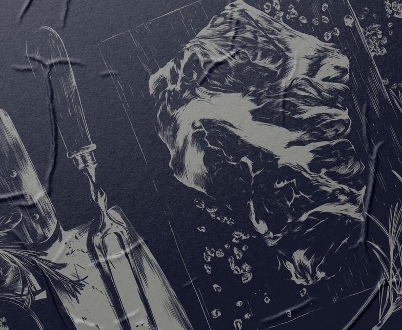 Ilustração para Rótulos Frical