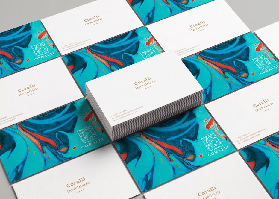 Cartão de Visita Coralli