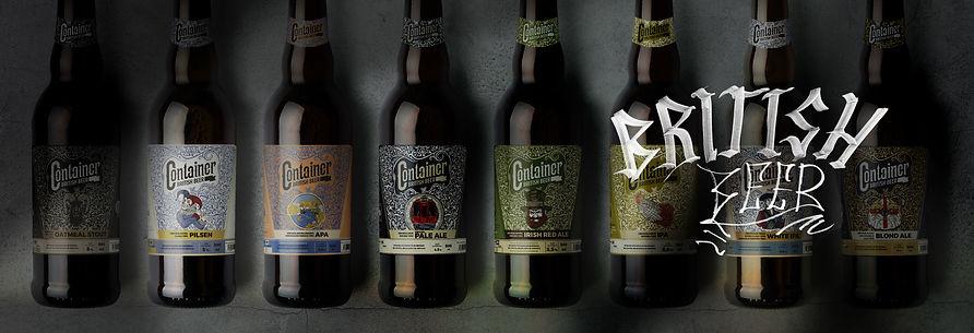 Garrafas Cervejaria Container