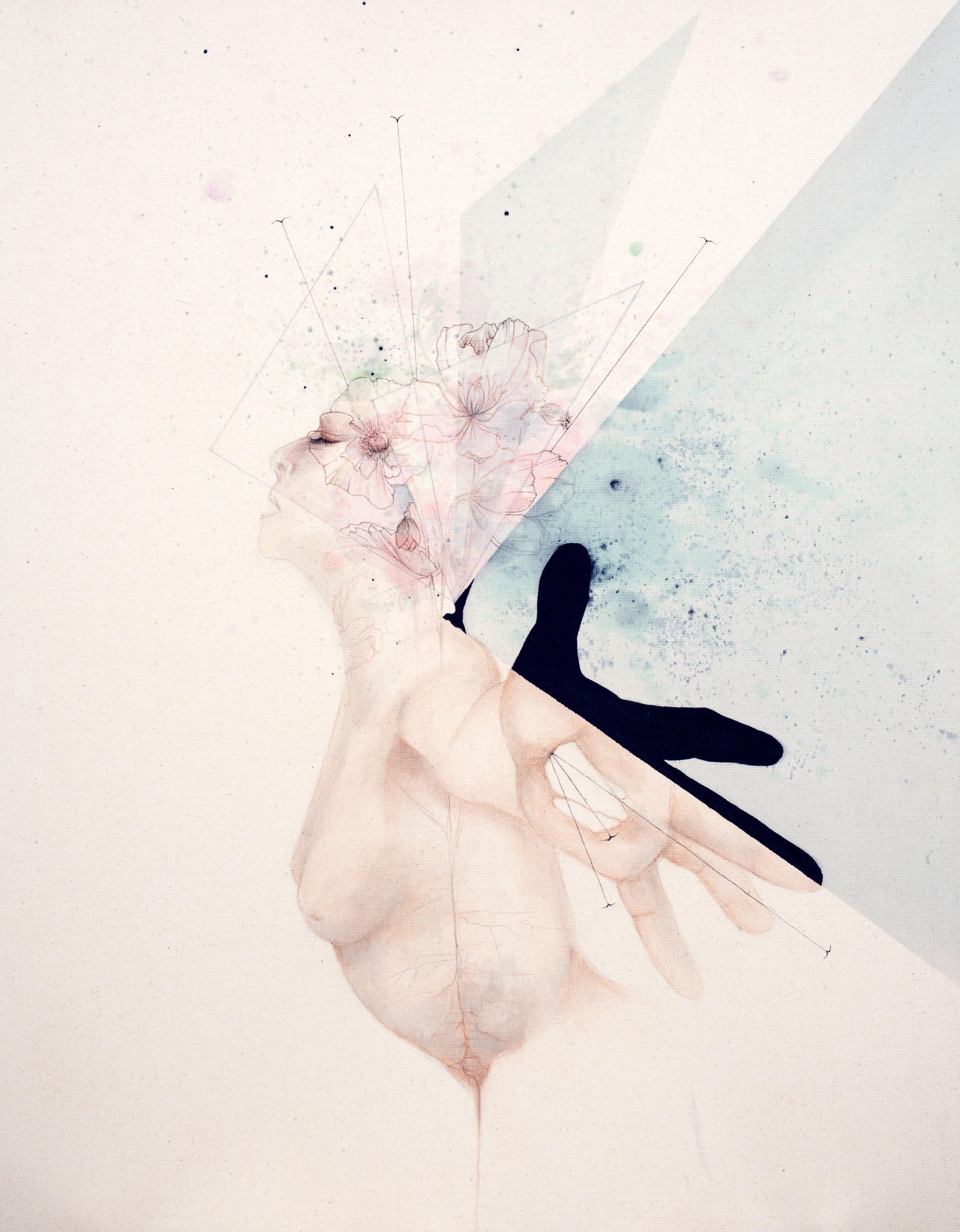 le coeur dans la main
