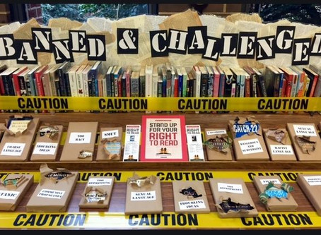 My Public Library has a Banned Books Week: What is that?