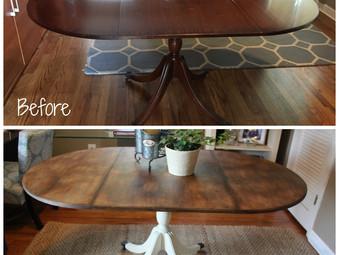 Vintage Drop Leaf Table – Custom Order