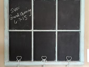 Chalk Board 101 Workshop