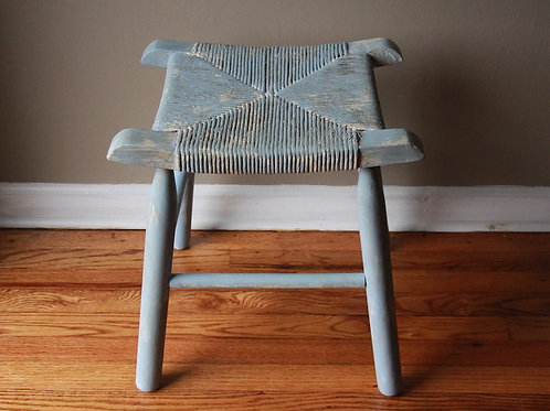 Wicker Accent Stool