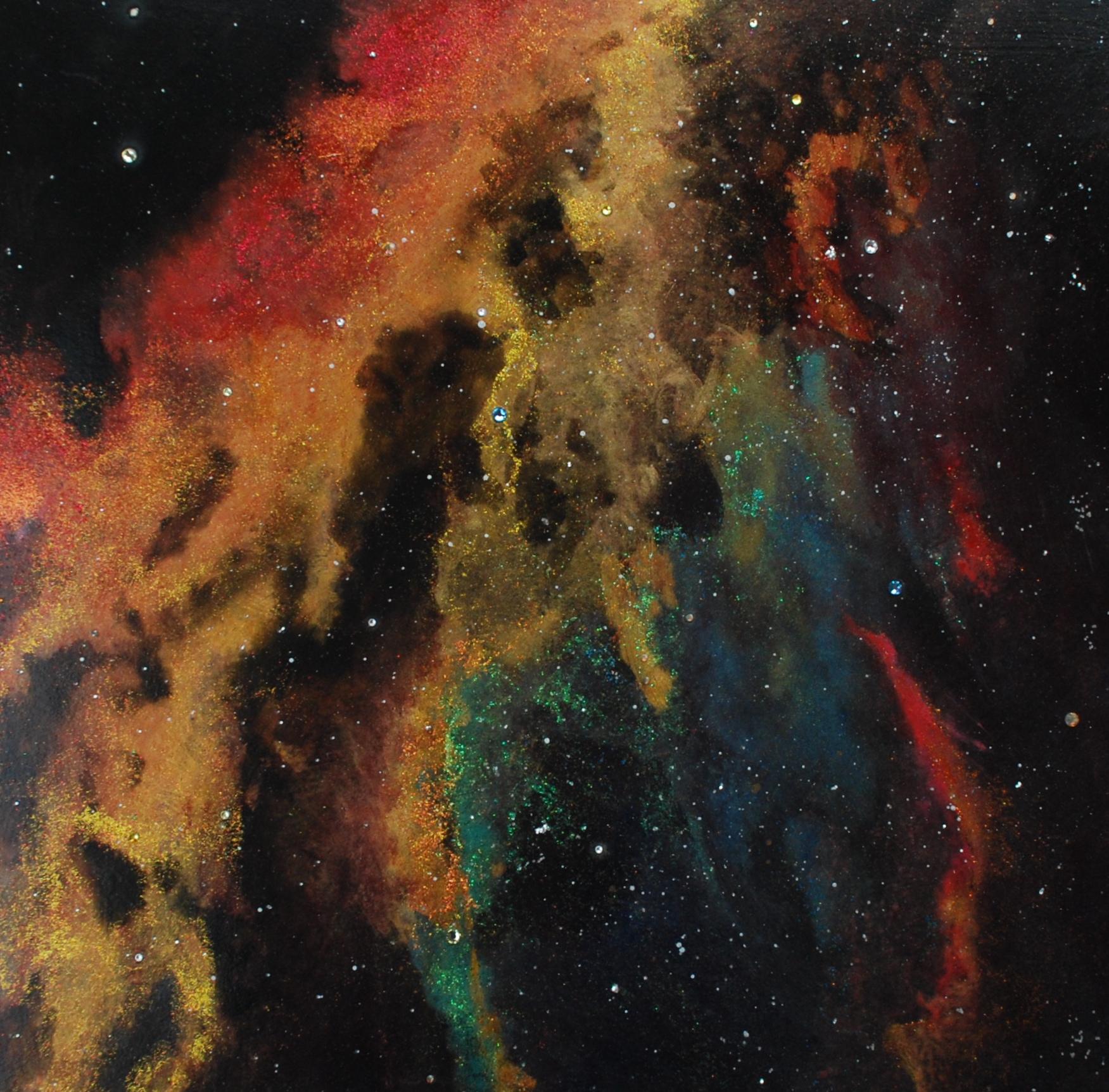 Multicoloured Cosmos Ceiling