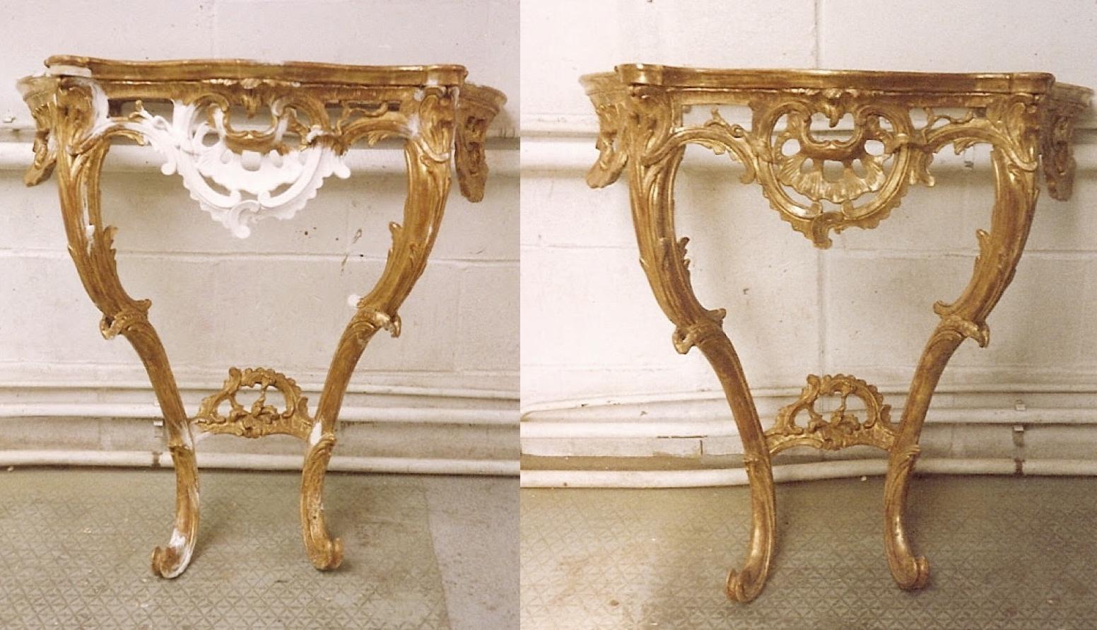 consol table restoration
