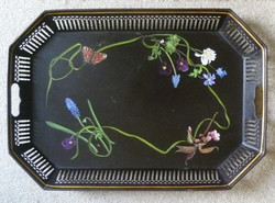 Victorian inspired Tole Tray